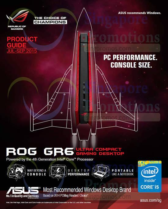 ROG GR6 Gaming Desktop PC