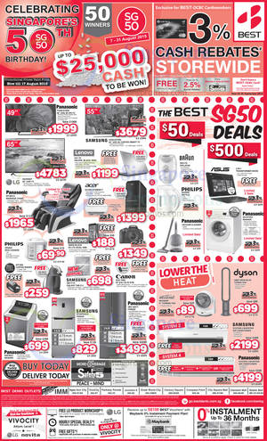Featured image for Best Denki TV, Appliances & Other Electronics Offers 16 – 17 Aug 2015