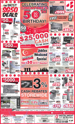 Featured image for Best Denki TV, Appliances & Other Electronics Offers 7 – 10 Aug 2015