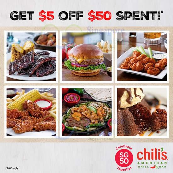 Chilis coupons 2019