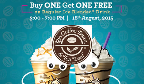 Coffee Bean Tea Featured 18 Aug 2015