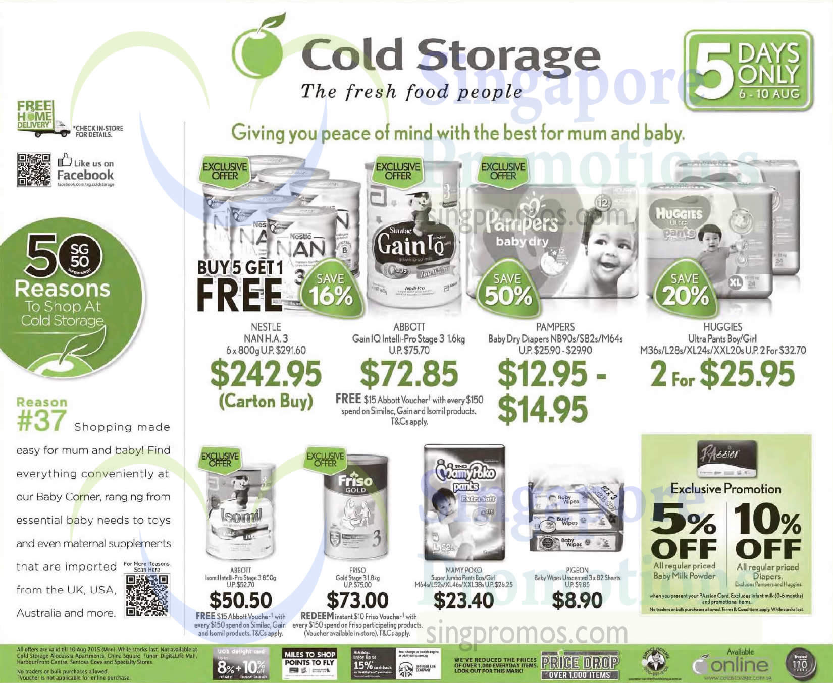 Cold Storage 6 Aug 2015