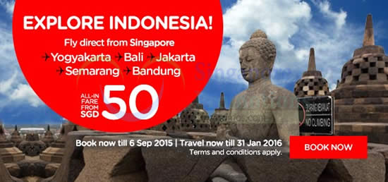 Explore Indonesia fr SGD50