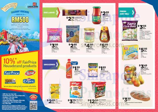 Aik Cheong Kopi-O Plastic Container, Carrefour Squeeze Liquid Honey, I & J Sea Shantys, Carrefour Hearts of Palms
