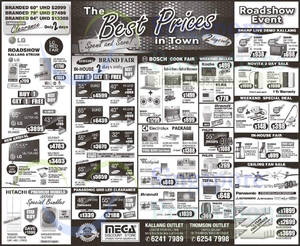 Featured image for Mega Discount Store TVs, Washers, Hobs & Other Appliances Offers 1 Aug 2015