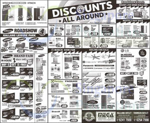Featured image for Mega Discount Store TVs, Washers, Hobs & Other Appliances Offers 15 Aug 2015