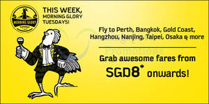 Featured image for Scoot fr $8 2hr Promo Air Fares (7am to 9am) 1 Sep 2015