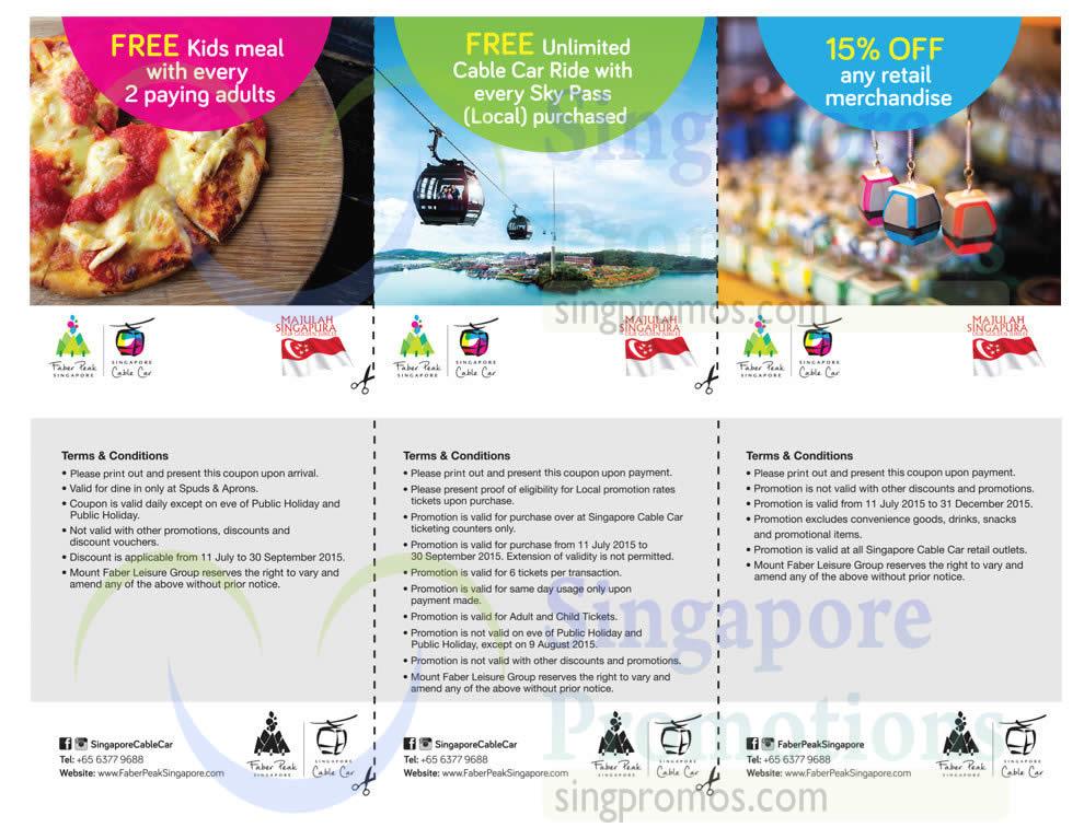 Singapore discount coupons