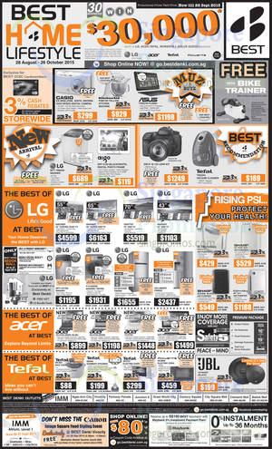 Featured image for Best Denki TV, Appliances & Other Electronics Offers 24 – 28 Sep 2015