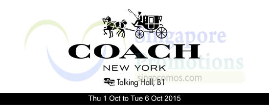 Coach 28 Sep 2015