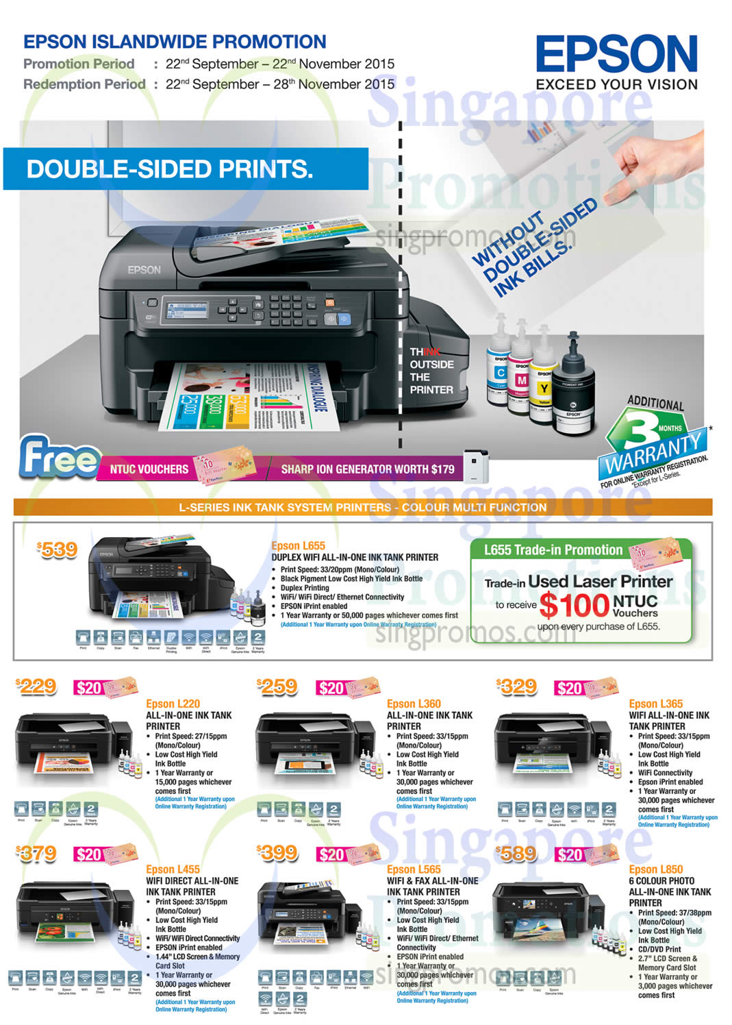 List Of Epson L1300 Printer Related Sales Deals Promotions News Printers Scanners More Offers 26 Sep 22 Nov 2015