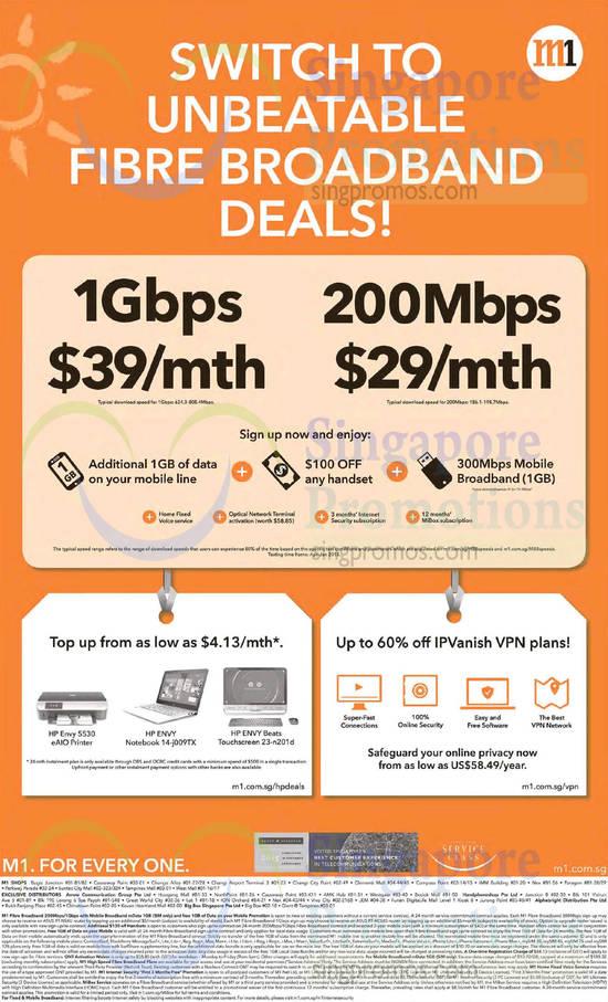 Fibre Broadband Deals 39.00 1Gbps, 29.00 200Mbps