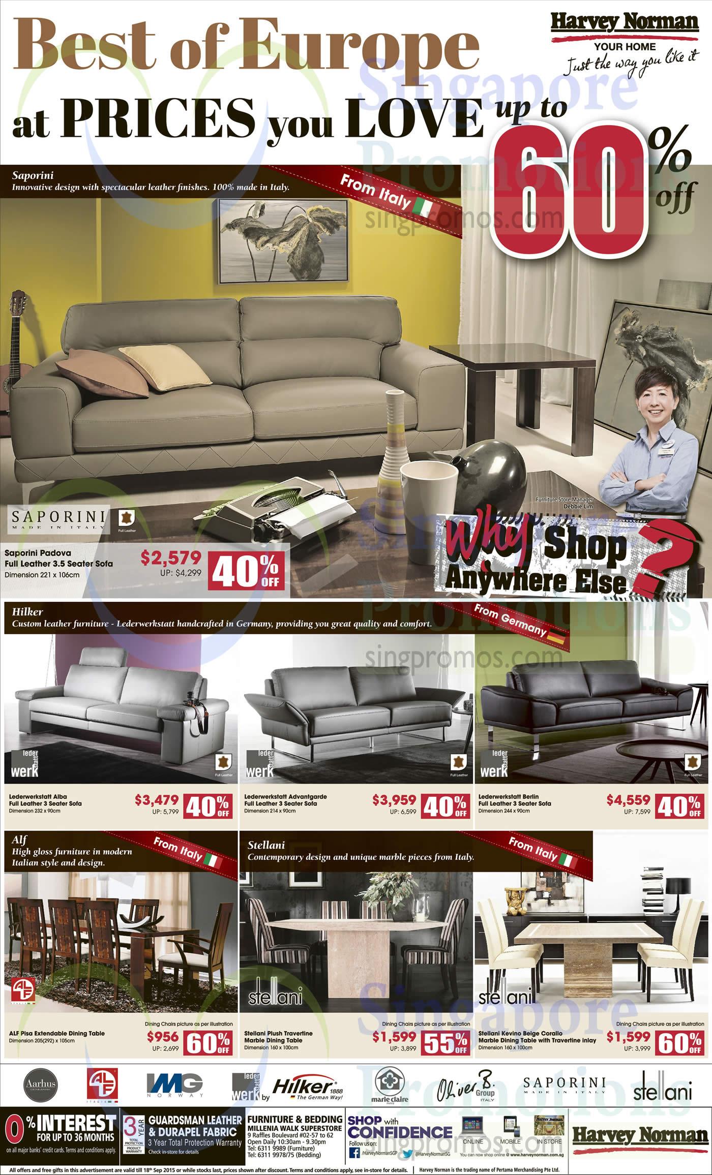 Furniture, Dining Tables, Sofas, Aarhus, Alf, IMG, Lederwerkstatt By Hilker, Marie Claire ...