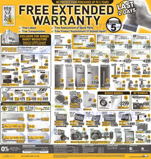 Featured image for Gain City Electronics, TVs, Washers, Digital Cameras & Other Offers 19 Sep 2015