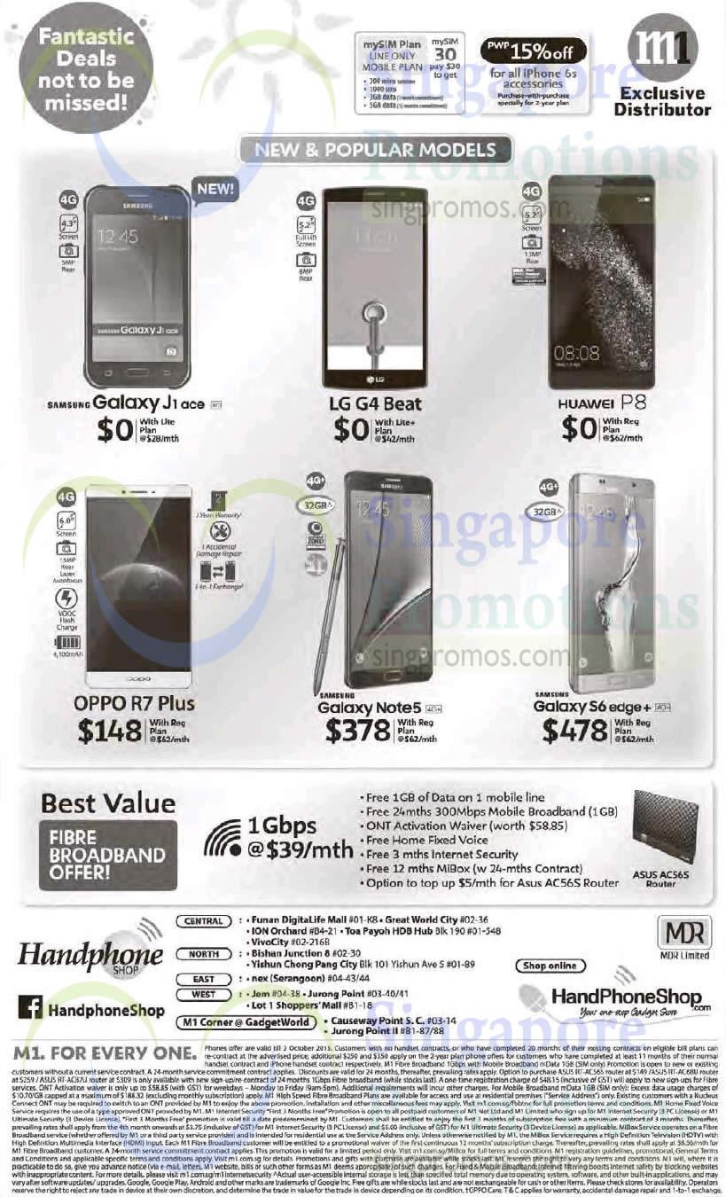 Handphone Shop Samsung Galaxy J1 Ace Note 5 S6 Edge Plus