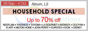 Featured image for Isetan Household Special @ Nex 28 Sep – 4 Oct 2015