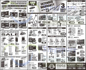 Featured image for Mega Discount Store TVs, Washers, Hobs & Other Appliances Offers 12 Sep 2015