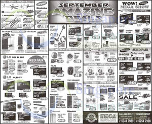Featured image for Mega Discount Store TVs, Washers, Hobs & Other Appliances Offers 5 Sep 2015