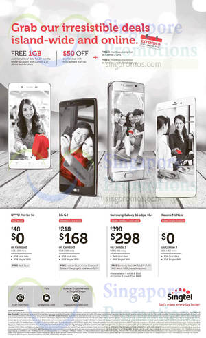 Featured image for Singtel Broadband, Mobile & TV Offers 12 – 18 Sep 2015