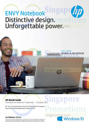Featured image for HP Notebooks, Desktop PCs & Accessories Offers 26 Sep – 15 Oct 2015
