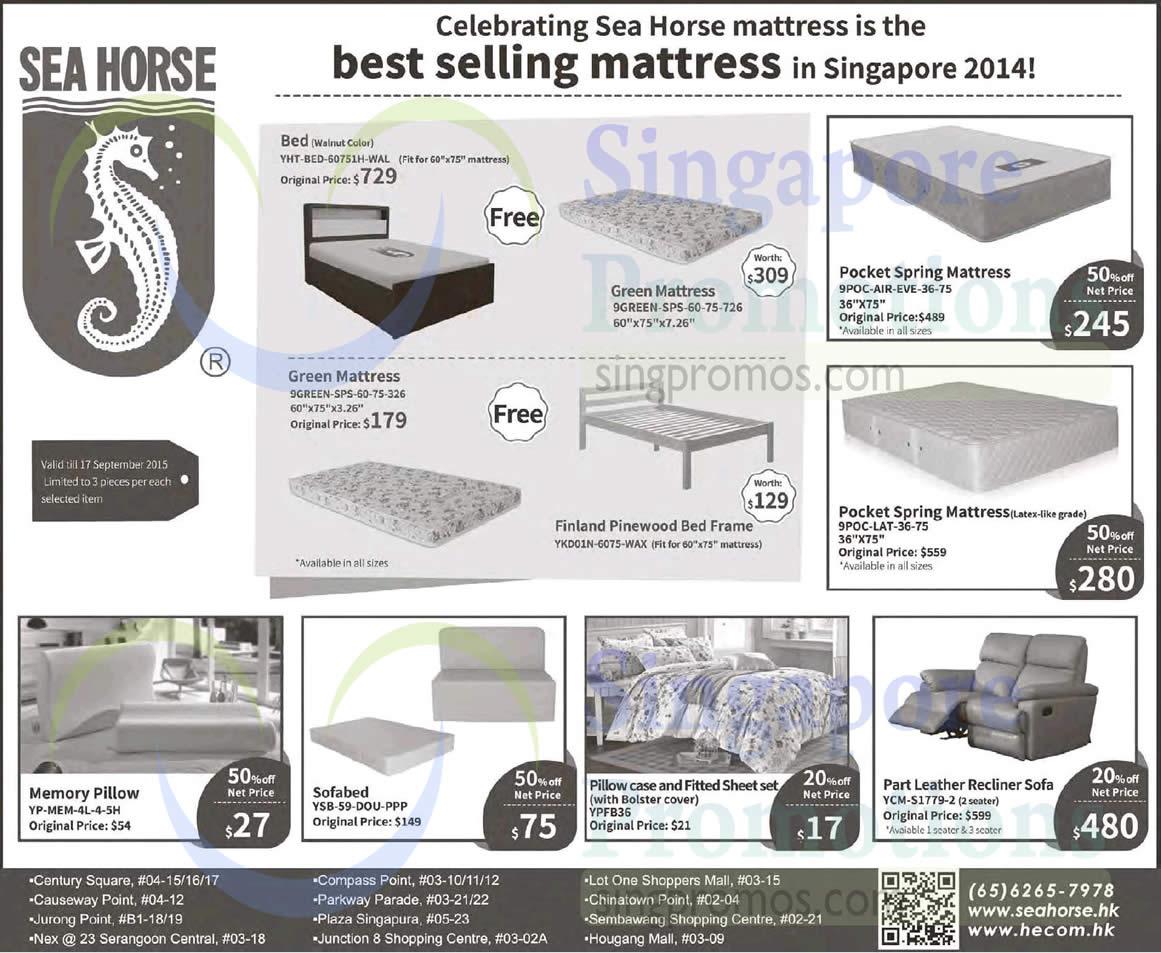 Sea Horse 2 Sep 2017 Mattresses Sofa Offers 3 17