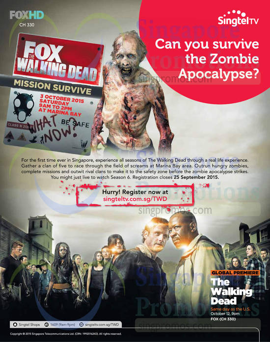 TV The Walking Dead Mission Survive