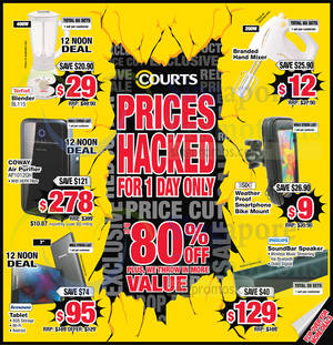 Featured image for Courts Up to 80% Off 1-Day Offers 18 Sep 2015