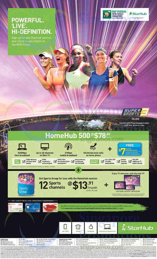78.80 HomeHub 500, 13.91 Sports Group