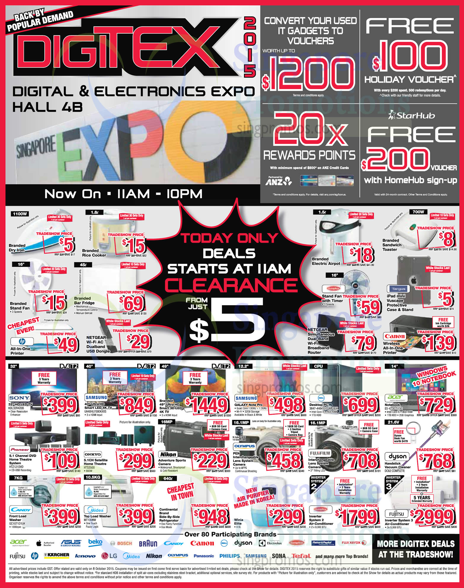 8 Oct Daily Deals Tvs Home Theatre Digital Camera Washer Fans Computers 187 Digitex 2015