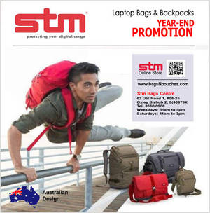 Featured image for STM Bags Year-End Promotion 22 Oct – 1 Nov 2015