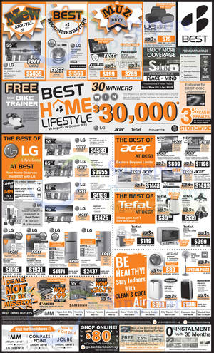 Featured image for Best Denki TV, Appliances & Other Electronics Offers 2 – 5 Oct 2015