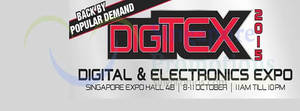Featured image for Digitex 2015 @ Singapore Expo 8 – 11 Oct 2015