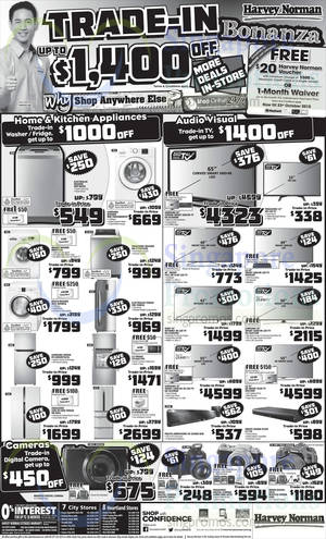 Featured image for Harvey Norman Electronics, Appliances, IT & Other Offers 17 – 23 Oct 2015