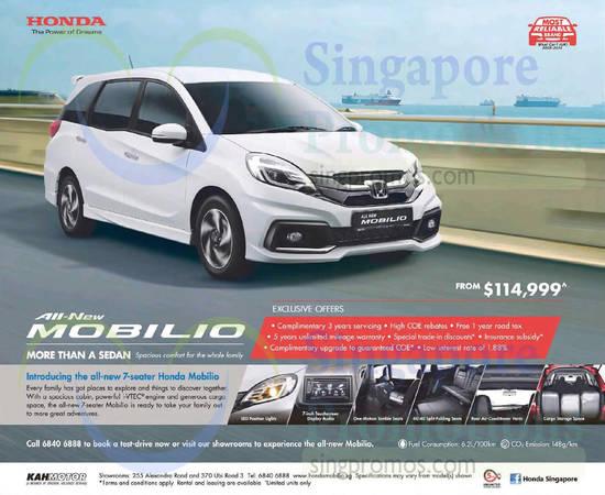 Honda 3 Oct 2015