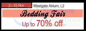 Featured image for Isetan Bedding Fair @ Westgate 2 – 15 Nov 2015