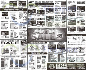 Featured image for Mega Discount Store TVs, Washers, Hobs & Other Appliances Offers 10 Oct 2015