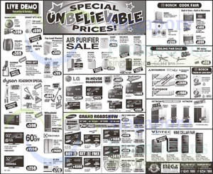 Featured image for Mega Discount Store TVs, Washers, Hobs & Other Appliances Offers 24 Oct 2015