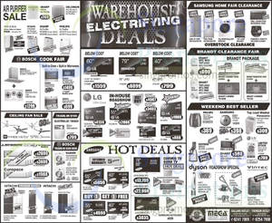 Featured image for Mega Discount Store TVs, Washers, Hobs & Other Appliances Offers From 31 Oct 2015