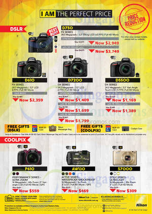 Featured image for Nikon Coolpix & DSLR Digital Camera Offers 2 Oct 2015