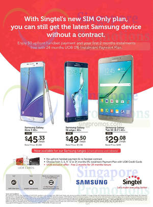 Featured image for Singtel Broadband, Mobile & TV Offers 31 Oct – 6 Nov 2015