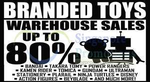 Featured image for Sheng Tai Toys Warehouse SALE Up To 80% Off 7 – 11 Oct 2015