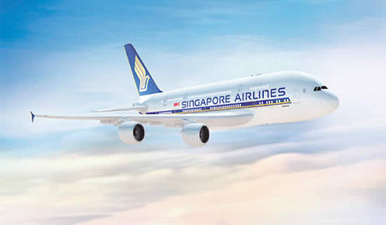 Singapore Airlines Plane 7 Oct 2015