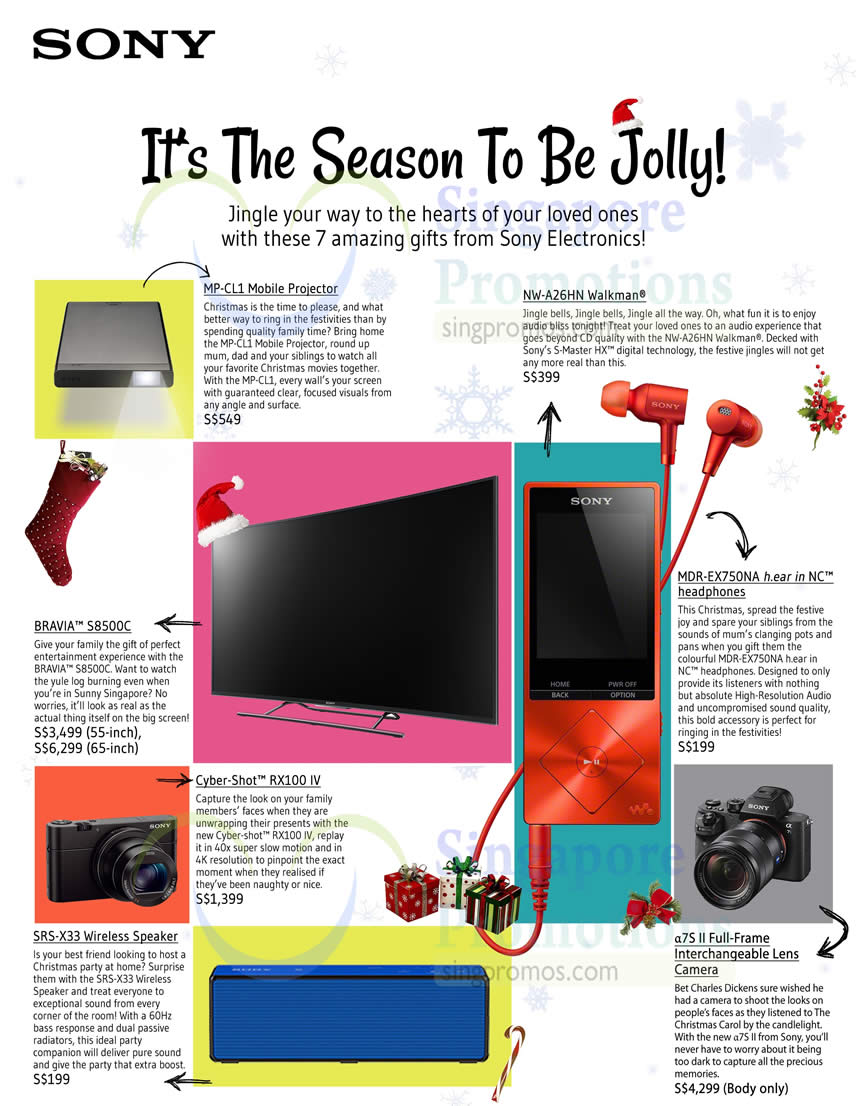 Sony christmas gift ideas 22 oct 2015 negle Choice Image