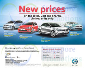 Featured image for Volkswagen Jetta, Golf & Sharan Offers 10 Oct 2015
