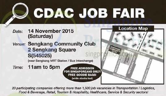 CDAC Job Fair Feat 14 Nov 2015