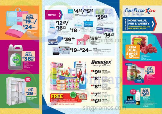 Catalogue Super Saver, Textiles, Beautex, Domus, Crown, Beautex