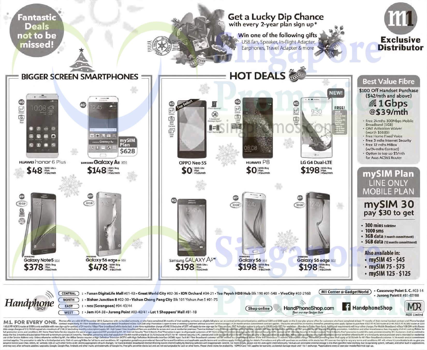 Handphone Shop Huawei Honor 6 Plus P8 Samsung Galaxy A8