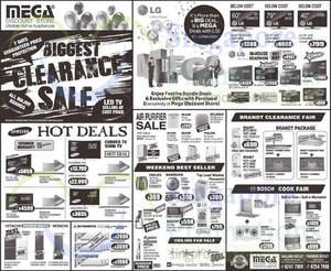 Featured image for Mega Discount Store TVs, Washers, Hobs & Other Appliances Offers From 7 Nov 2015
