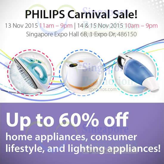 Philips Carnival Sale 4 Nov 2015