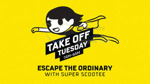 Featured image for Scoot Take Off Tuesday fr $9 2hr Promo Fares (7am to 9am) 1 Dec 2015
